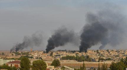 Vokietija dėl puolimo Sirijojestabdo ginklų pardavimą Turkijai