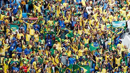 Šveicarišką niuksą gavusi Brazilija egzaminuoja Kosta Riką