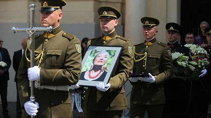 Vilniuje palaidota rašytoja V.Jasukaitytė