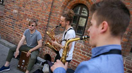 Lietuvoje prasidėjo Gatvės muzikos diena