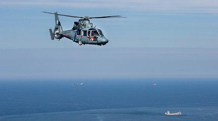 Karinių oro pajėgų sraigtasparnis pergabeno donoro organus