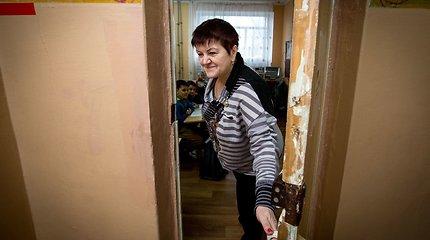 Mokykla Ukrainos fronte – su smėlio maišais ant langų ir požemine slėptuve