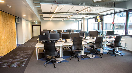 Itin aukštas biuro patalpų užimtumas sostinėje paskatino plėtotojus naudotis proga