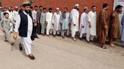 Šventvagyste kaltintos pakistanietės advokatas: ES ir JT privertė pabėgti iš šalies
