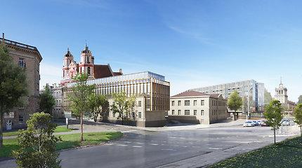 Pristatytas atnaujintas projektas prie Šv. Pilypo ir Jokūbo bažnyčios: specialistai vis dar turi pastabų