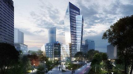 Statybos inspekcija: leidimas D.Libeskindo pastatui Vilniuje išduotas teisėtai