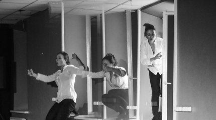 """Spektaklio """"Aš, Fojerbach"""" repeticija"""