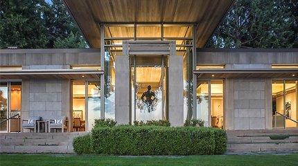 Namas, kuriame sutilpo geriausi meno darbai: įvertinkite 45 mln. vertės vilą