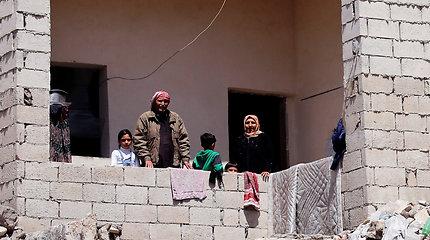 Gyvenimas tarp griuvėsių Alepe