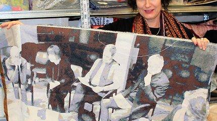 Svečiuose pas tekstilininkę Eglę Gandą Bogdanienę