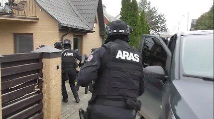 Kaune su 0,5 mln. eurų ir 4 ginklais sulaikytas narkotikų prekybos vadeiva