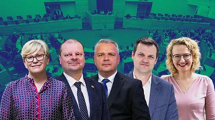 """Lietuva pasirinko: konservatoriai didina atotrūkį nuo """"valstiečių"""", V.Tomaševskio partija – ant ribos"""