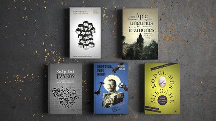 15min metų knygų rinkimai: skaitytojų atrinktos užsienio autorių negrožinės knygos