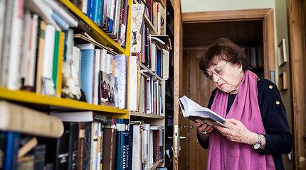 Irena Veisaitė savo namuose