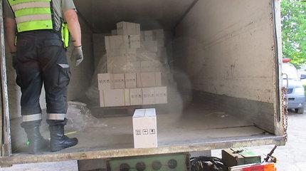 Šiaulių rajone muitininkai sulaikė nelegalią pesticidų siuntą