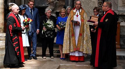 Stepheno Hawkingo urna su pelenais patalpinta Vestminsterio vienuolyne