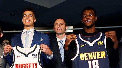 "Sutartį su A.Karnišovu pratęsęs ""Nuggets"" savininkas regi NBA žiedus Denveryje"