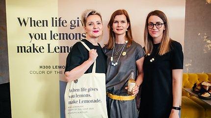 """""""Tikkurila"""" 2020 metų spalvos """"Lemonade"""" (H300) pristatymas"""