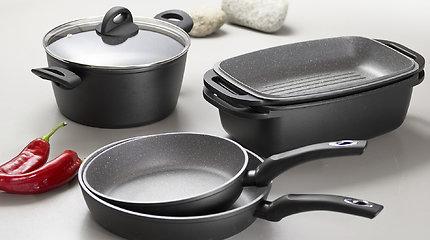 """""""Gulbelės"""" krautuvėse – lipdukų rinkimo vajus: įspūdingos akcijos profesionaliems virtuvės įrankiams ir peiliams"""