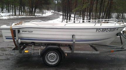 Žvejys iš Zapyškio prašo pagalbos: išplaukė žvejoti, o grįžęs neberado valties priekabos