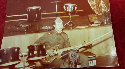 Gitaros mokytojo Gintaro Jakelio gyvenimo akimirkos