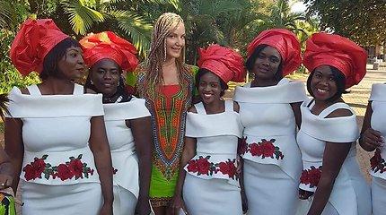 Lietuvės Ievos Horup gyvenimas Zambijoje