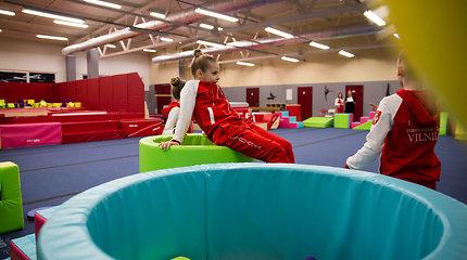 Tarptautinio gimnastikos centro atidarymas