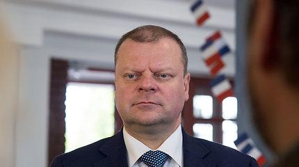 Premjeras: kuriai nors partijai palikus koalicijos derybas, galima mažumos Vyriausybė
