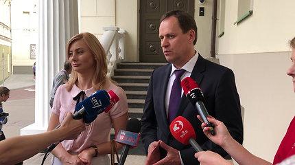 V.Tomaševskis po susitikimo su G.Nausėda: buvo malonus ir nuoširdus pokalbis