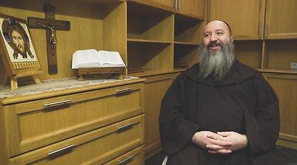 """Vieni iš mūsų. Iš Italijos atvykęs vienuolis: """"Esu ten, kur turiu būti"""""""