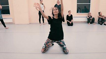 Sportui dydis nesvarbu: šiuolaikiniam šokiui veidrodžiai nereikalingi