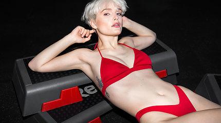 Rūtos Gajauskaitės-Krūmienės kurta bikinių kolekcija