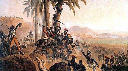 Svetimi svetimoje šalyje: kodėl buvę Lenkijos-Lietuvos valstybės kariai XIX a. kovėsi Haityje?