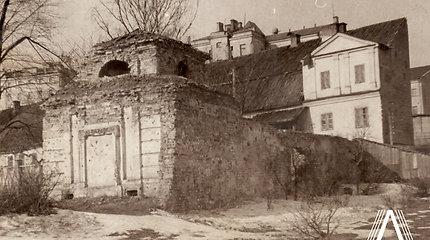 Dingęs Vilnius: keista Reformatų skvere buvusios Šrėterių giminės koplyčios istorija ir likimas
