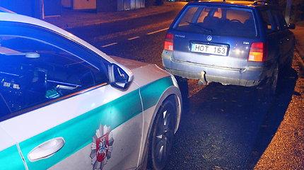 """Panevėžyje sučiuptas girtas """"Volkswagen Passat"""" vairuotojas"""