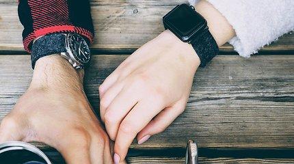 Naujo tipo laikrodžių dirželiams iš vilnos – intelektinės nuosavybės apsauga