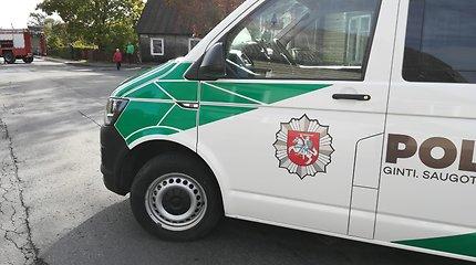 "Ariogaloje pavogtas brangus ""Audi"" automobilis"
