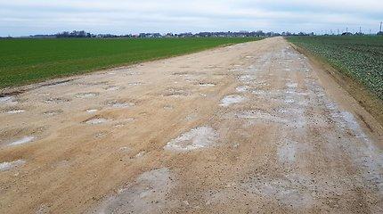 Vietinės reikšmės žvyrkelių asfaltavimui paskirstyta 10 mln. eurų
