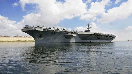 JAV pasiuntė į Vidurio Rytus daugiau karo laivų