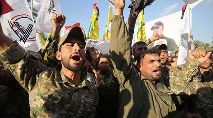 Kurdai: proiranietiška frakcija paleido raketų į JAV pajėgas Irako Kurdistane