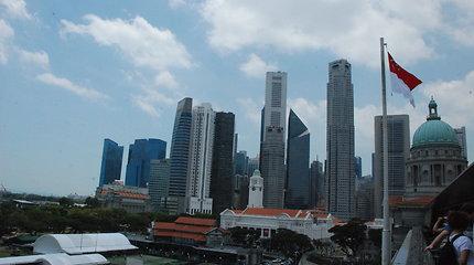 Į Pasaulio finansų centru tapusį Singapūrą lietuviai kol kas žiūri iš tolo