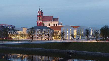 Šv.Jokūbo ligoninės projektas pajudėjo: savivaldybė pritarė architektų pasiūlymams