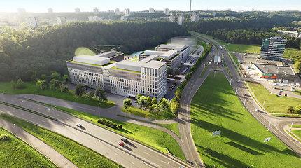 Verslo parko statybas sostinės Laisvės prospekte planuojama pradėti 2019-aisiais