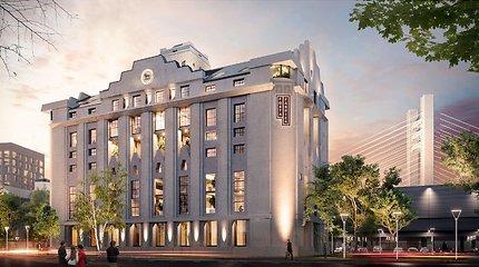 """""""Hanner"""" Rumunijoje alaus daryklos vietoje pradėjo įgyvendinti 30 mln. eurų projektą"""