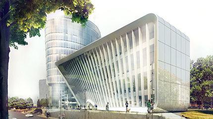"""Konkursas """"Už darnią plėtrą"""": skambiai verslo slėnį užbaigiantis biurų pastatas"""