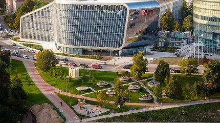 """Konkursas """"Už darnią plėtrą"""": žaliųjų pastatų filosofijos pagrindu sukurtas verslo centras"""
