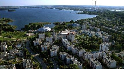 Parduodamas pastatas ant Elektrėnų marių kranto, kur galima įkurti viešbutį