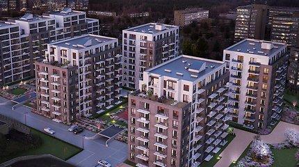 """""""Hanner"""" buvusio """"Autoūkio"""" teritorijoje per trejus metus planuoja pastatyti 536 butus"""