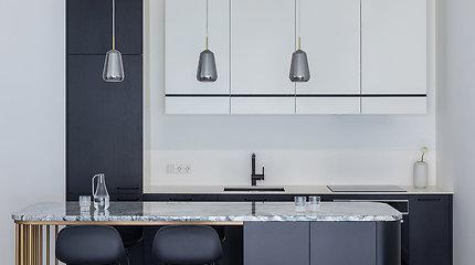 Modernus 50 kv. metrų butas su klasikinėmis detalėmis