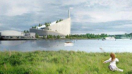 Ant šiukšlių deginimo gamyklos danai suplanavo aktyvaus poilsio oazę
